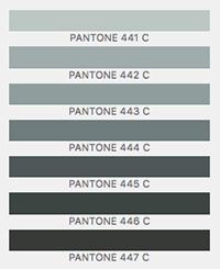 Pantone Grays